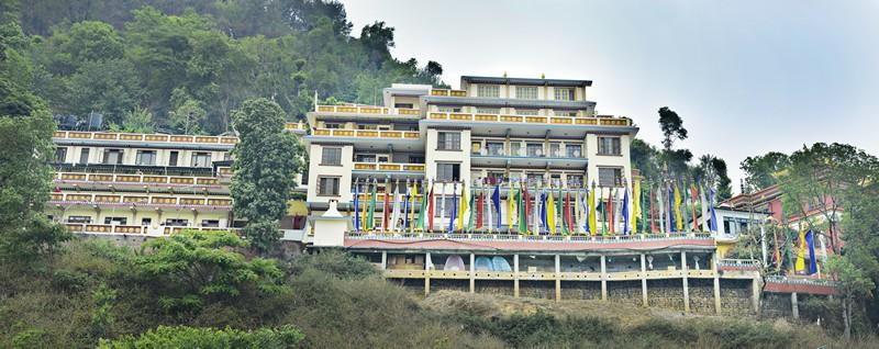Triten Norbutse Bompo Monastery Gumba