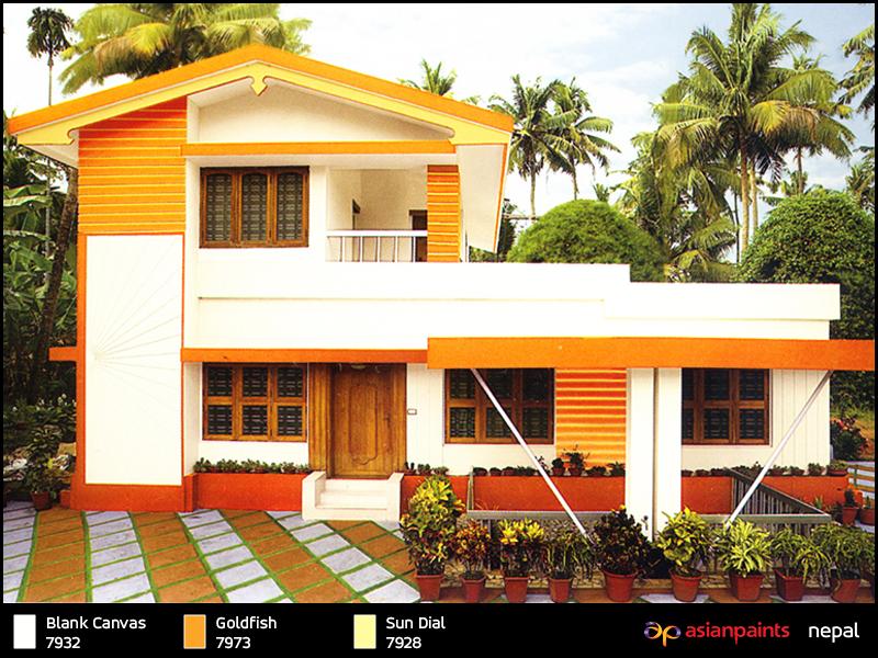 asian paints nepal exteriors | best exterior paints